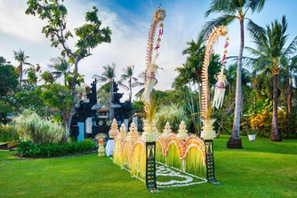 Wedding Balinese Setup