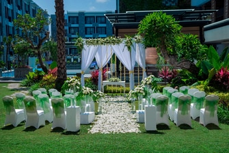 Garden Wedding Venue in Seminyak