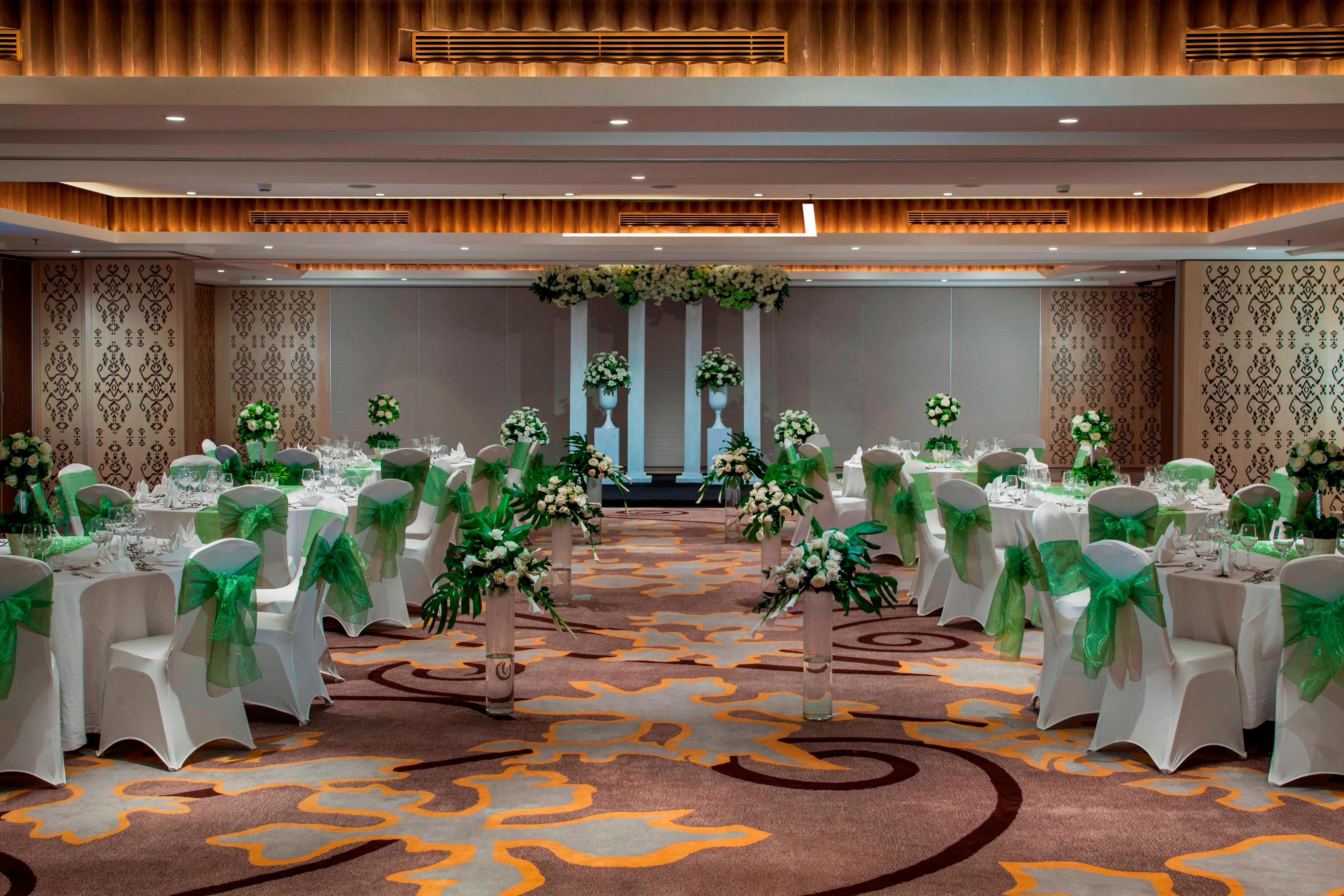 Wedding Reception in Bali Ballroom