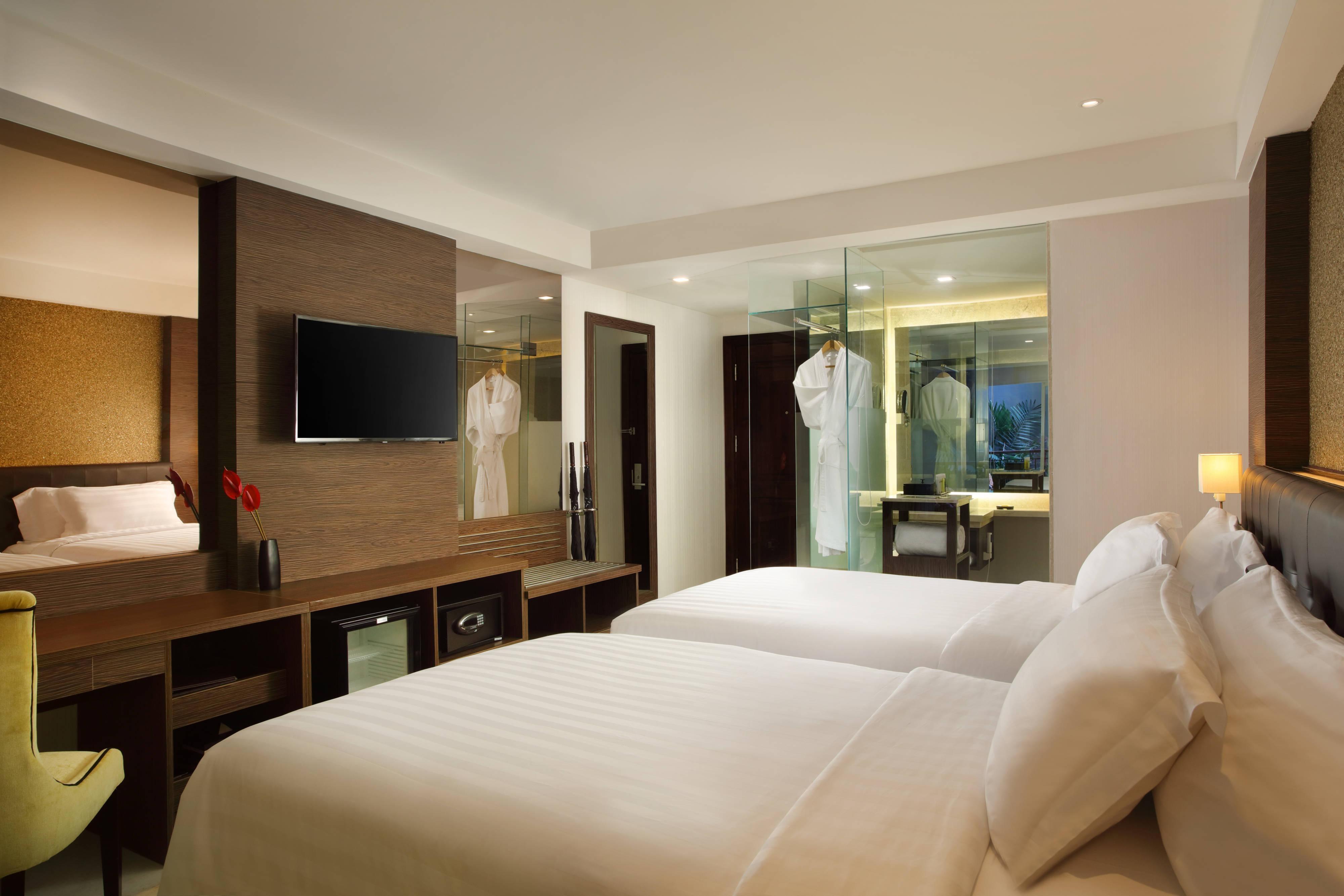 Twin Deluxe Guest Room Room