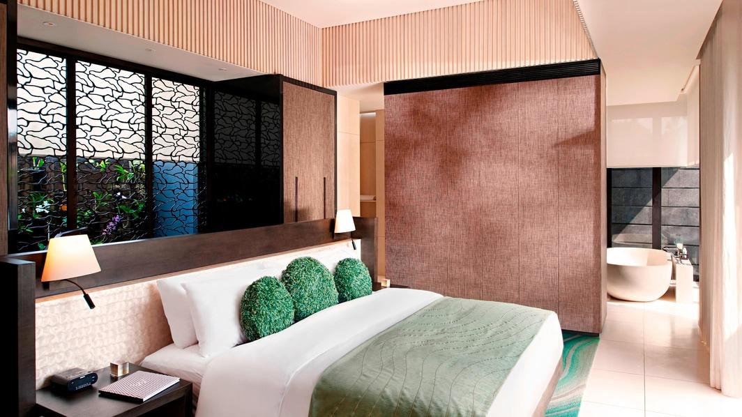 Marvelous Pool-Villa mit einem Schlafzimmer – Schlafzimmer