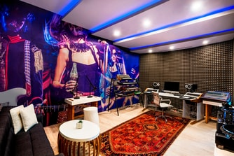 Main Room W Sound Suite Music Studio
