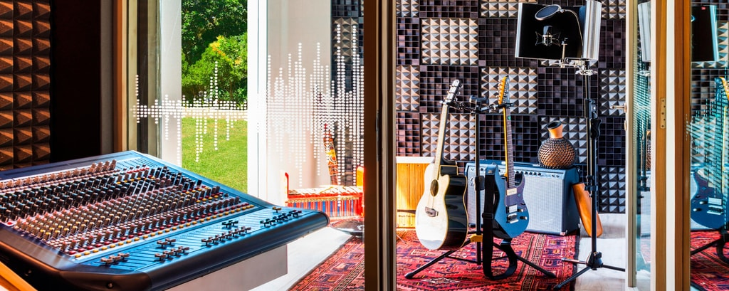 Live Room W Sound Suite Music Studio