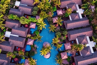 Villas and Lagoon