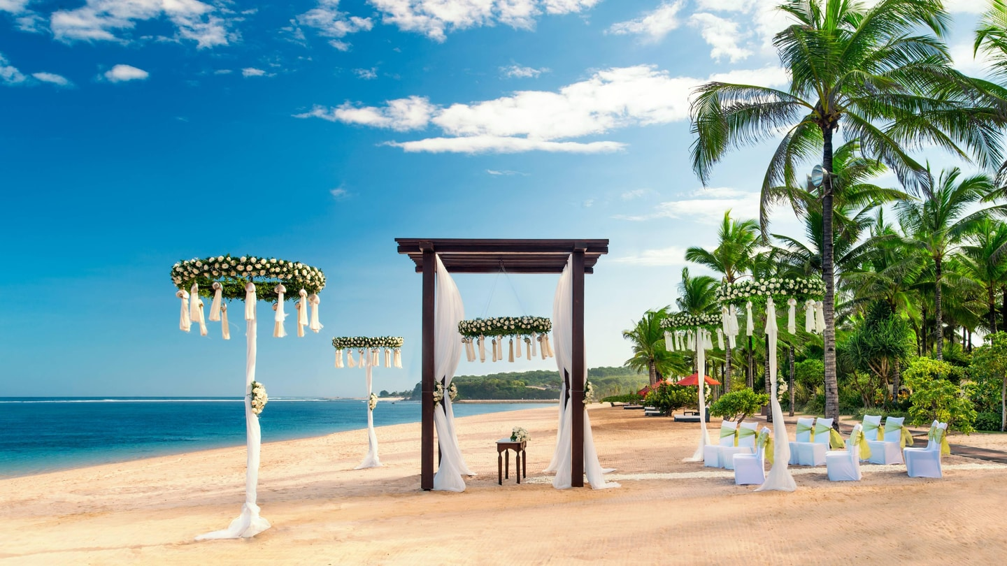 St Regis Beach Wedding