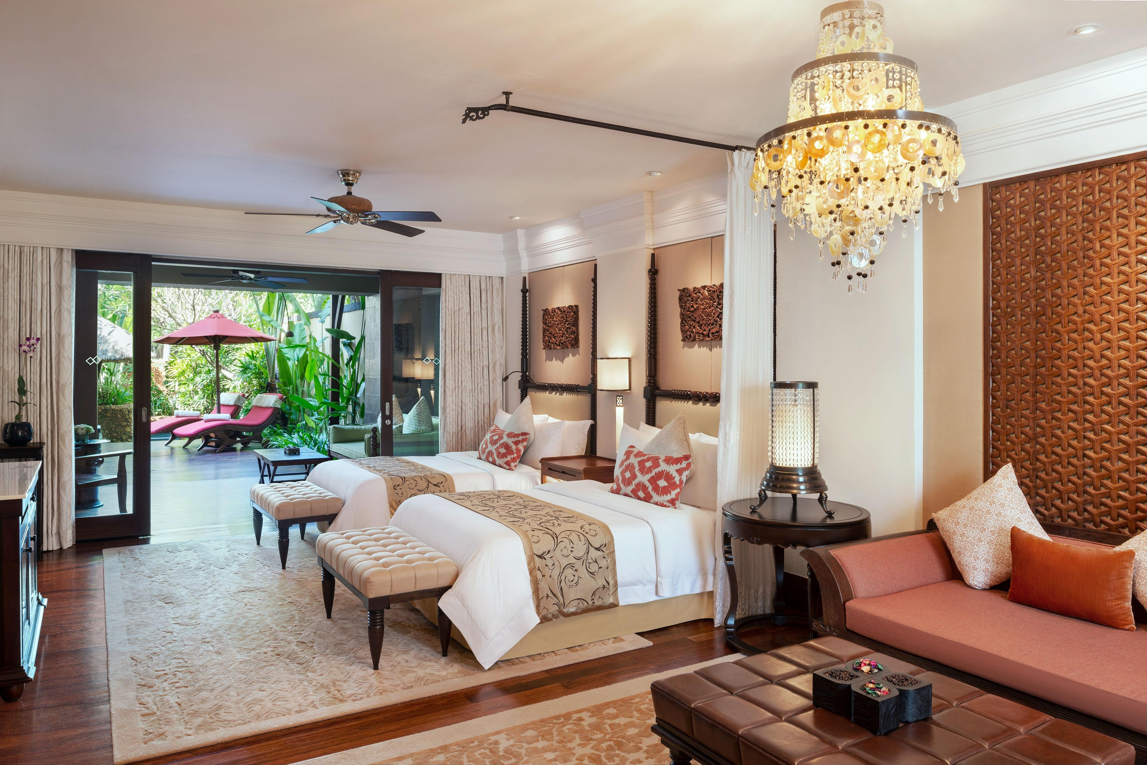 Suite St. Regis avec piscine - Chambre à deux lits simples