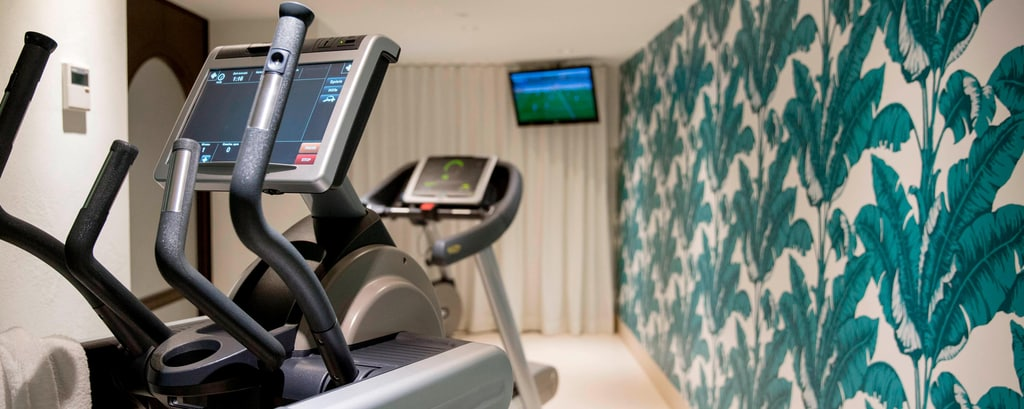 Fitness Center with cardiovascular equipment