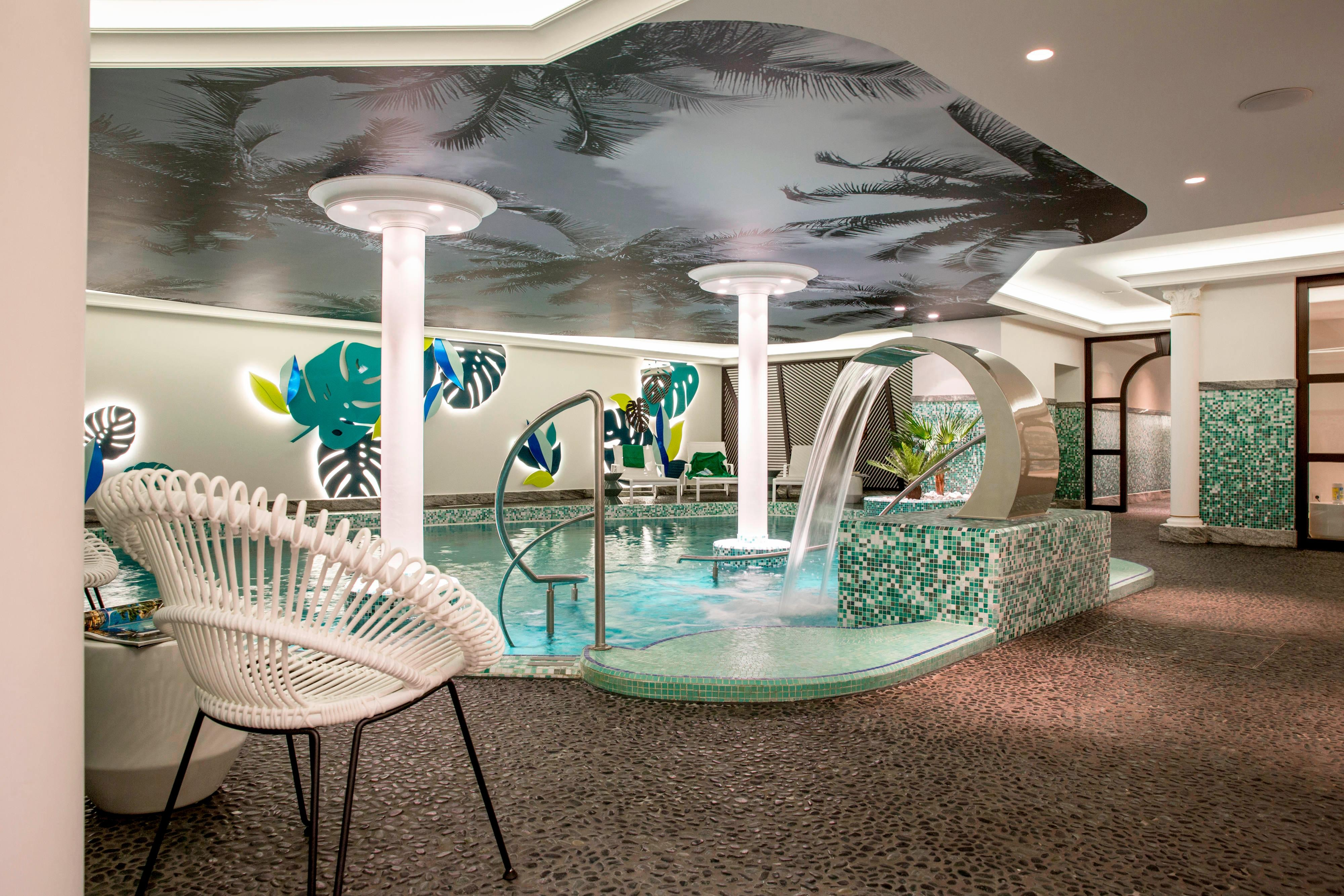 Indoor Pool at the Wellness SPA