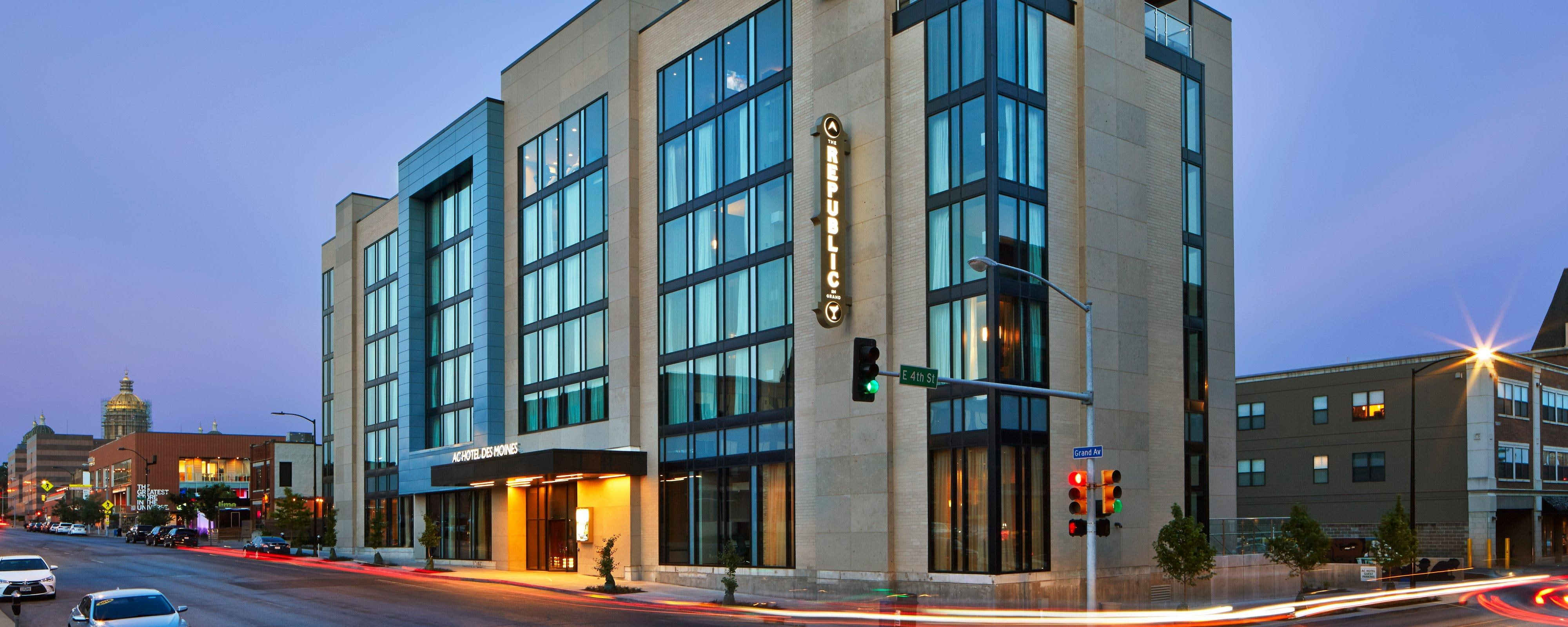 Des Moines East Village: Modern Business Hotel | AC Hotels