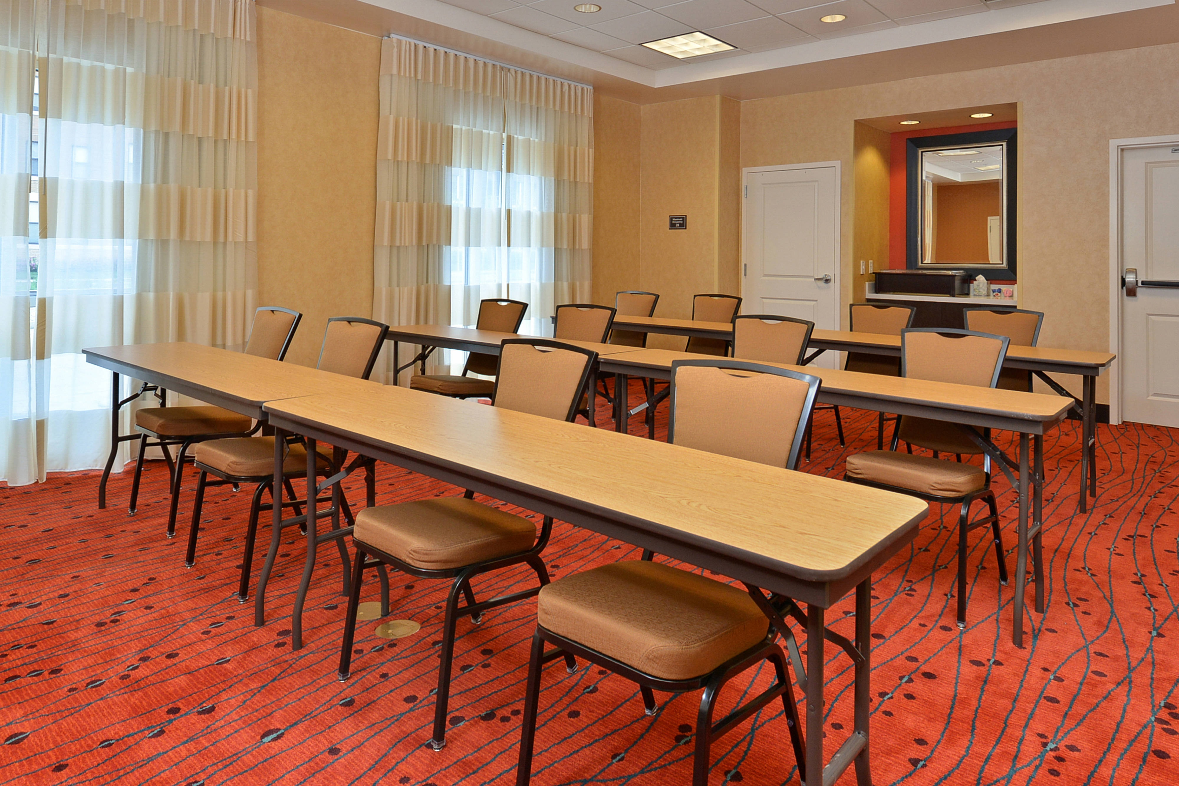 Riverside Meeting Room Classroom Style