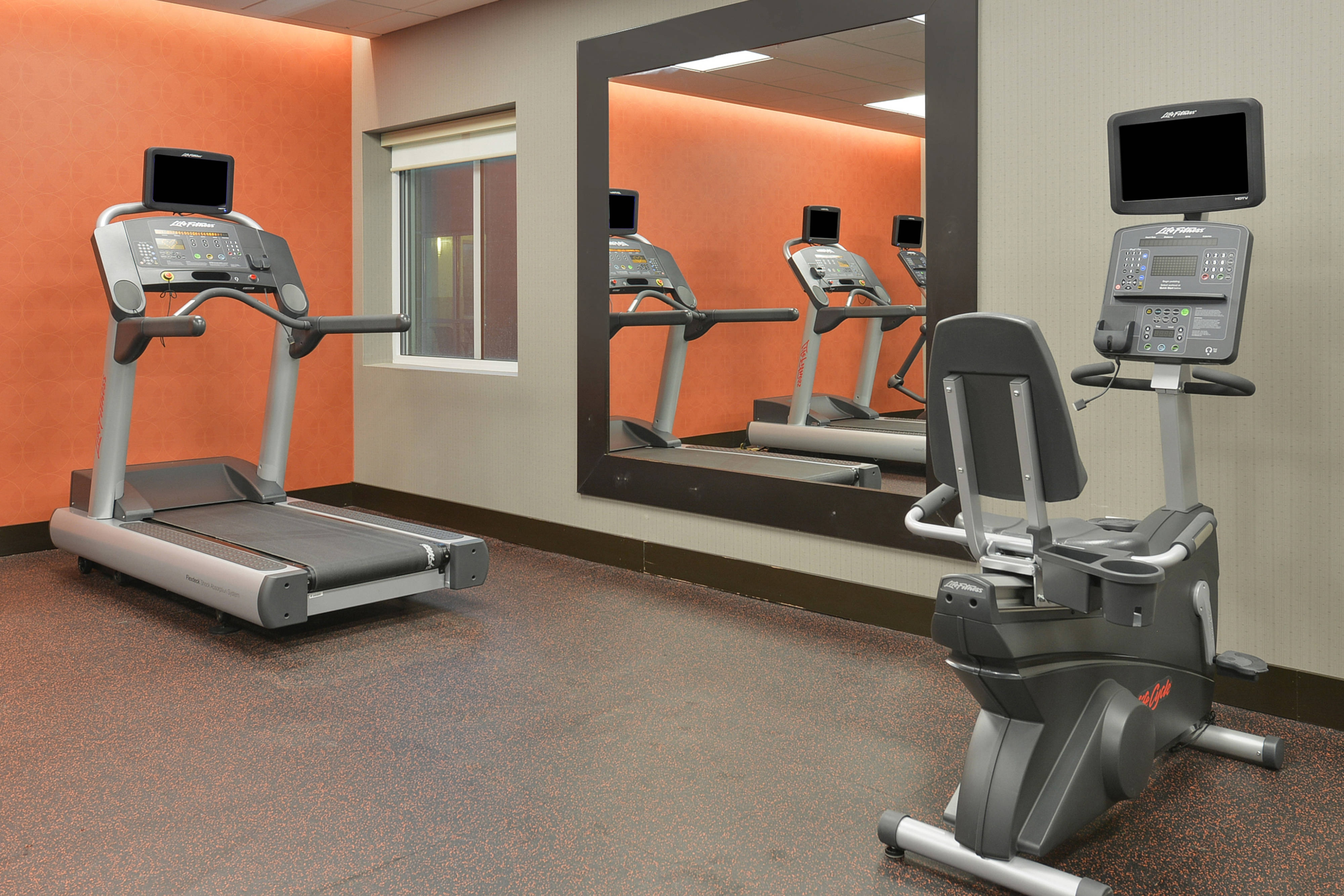Fitness Center Treadmills & Bike