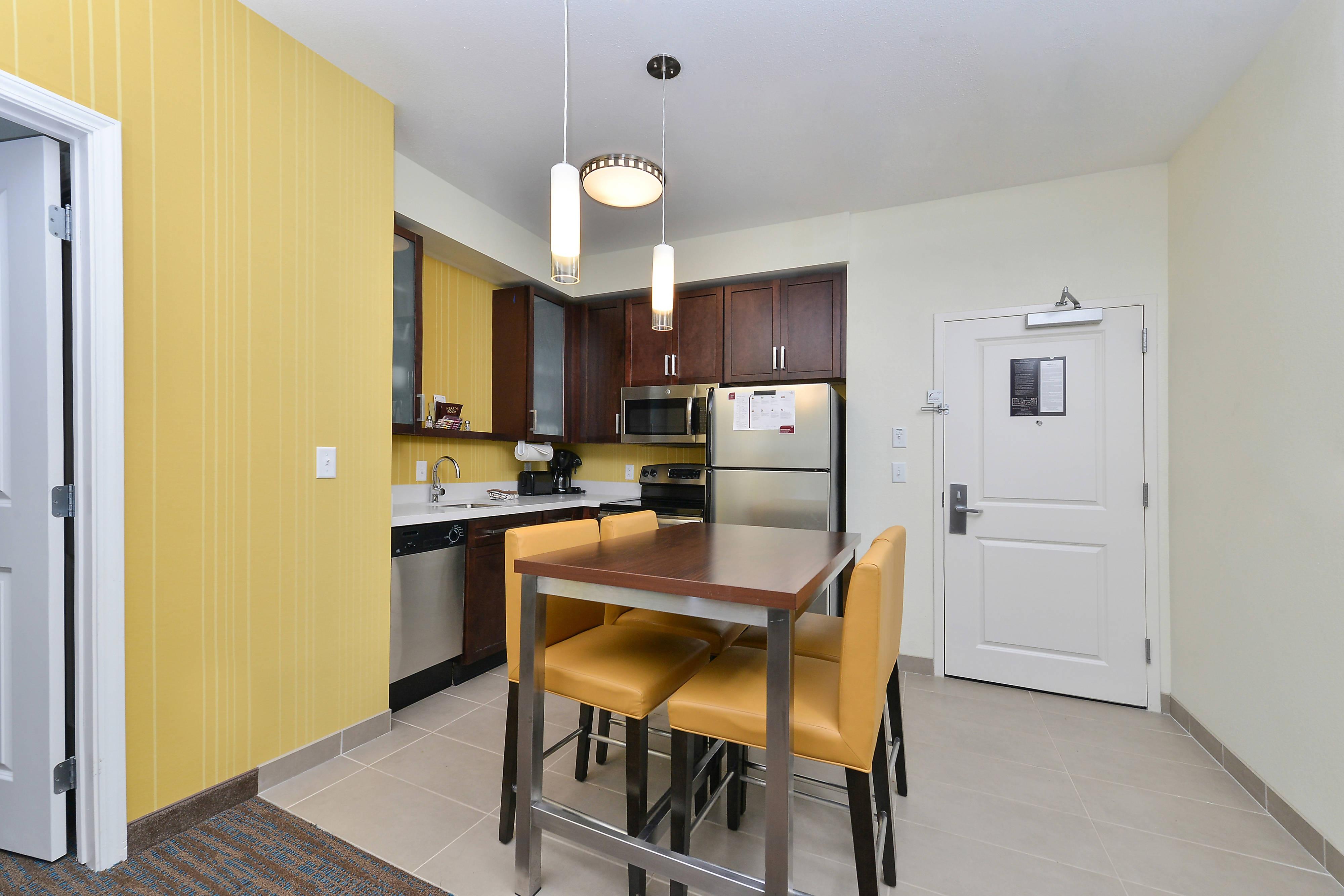 Two-Bedroom Suite – Kitchen