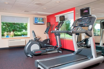 Fitness room TownePlace Suites Urbandale, IA