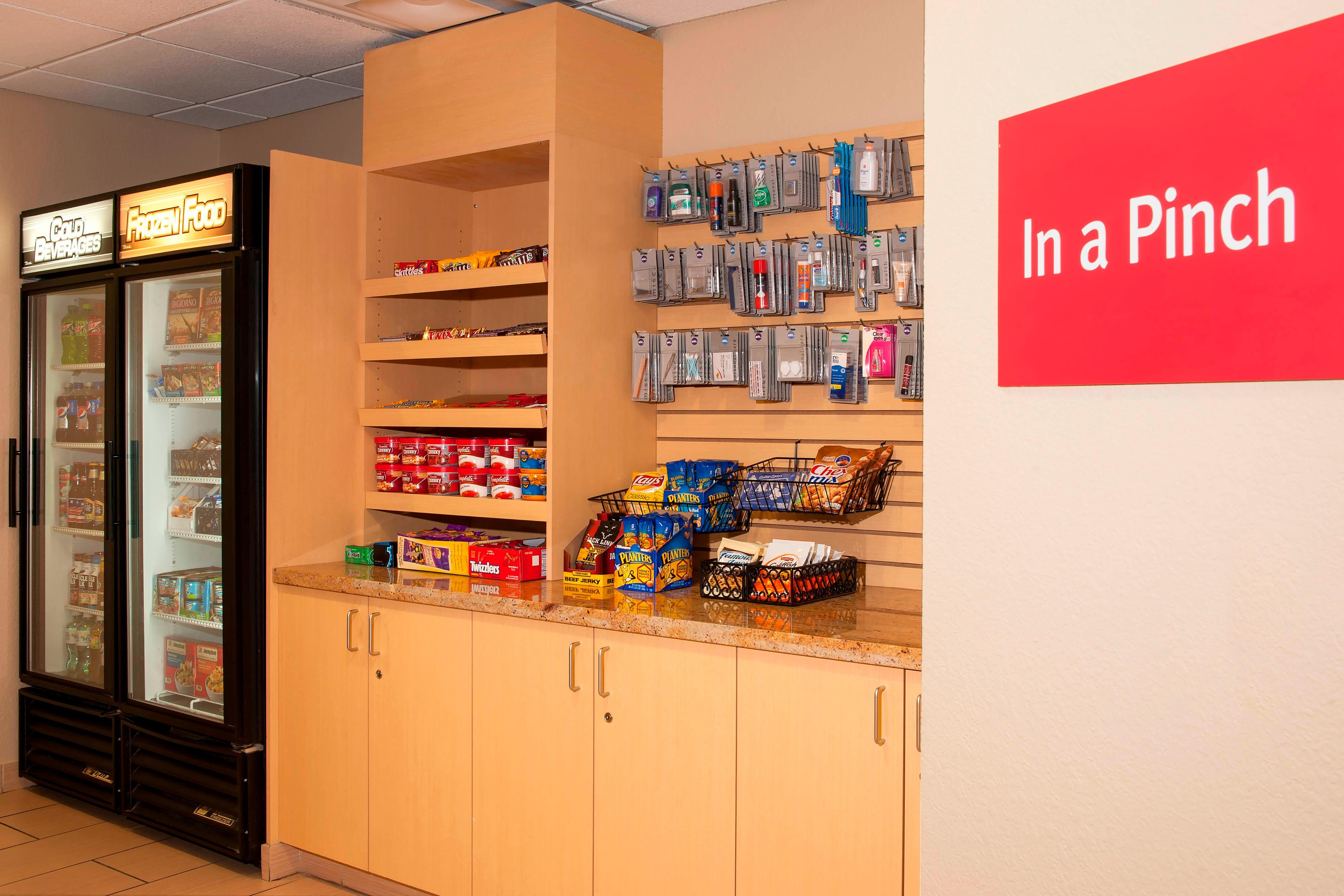 Snack shop at TownePlace Suites Urbandale, IA
