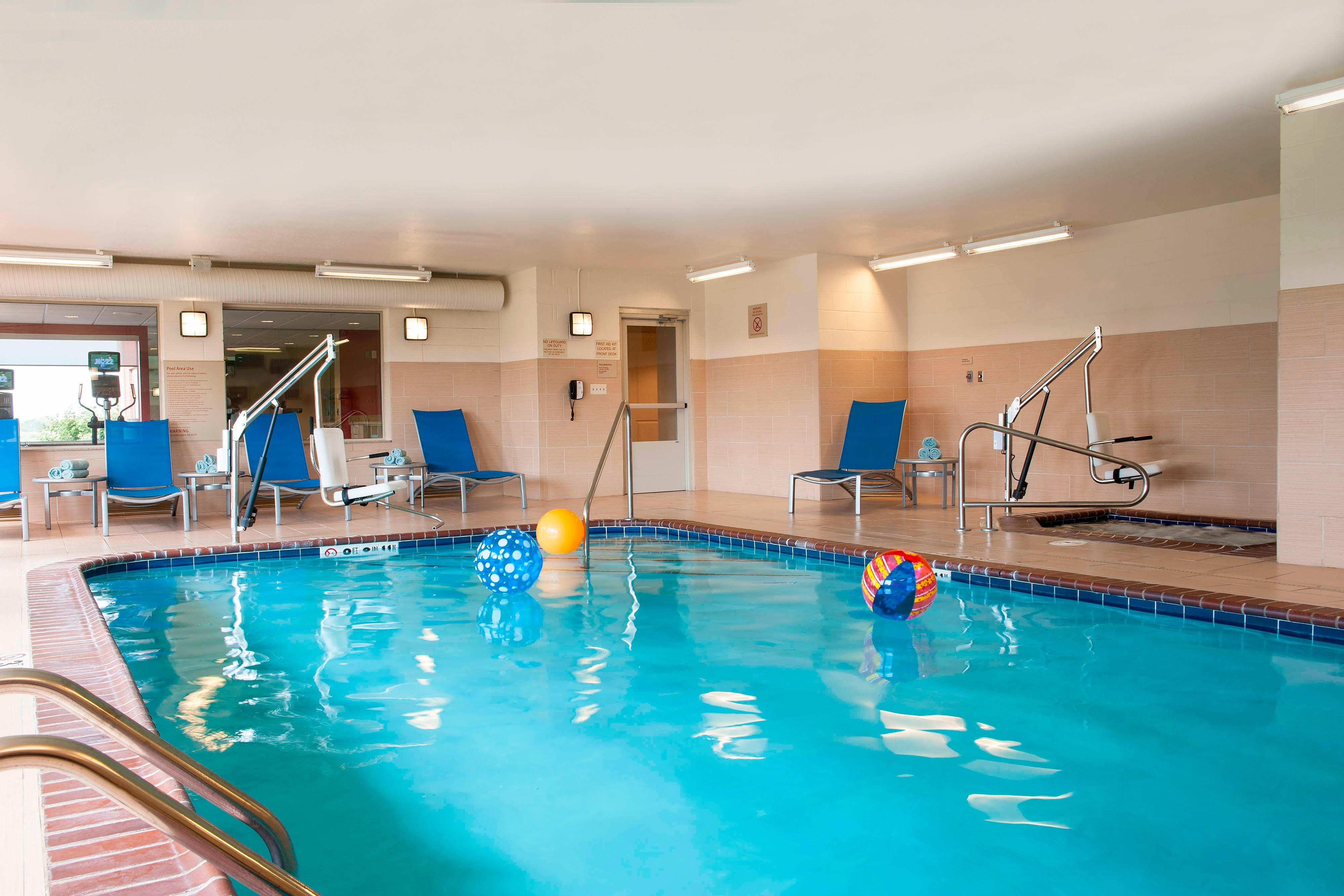 Indoor Pool at TownePlace Suites Des Moines Urbandale, IA