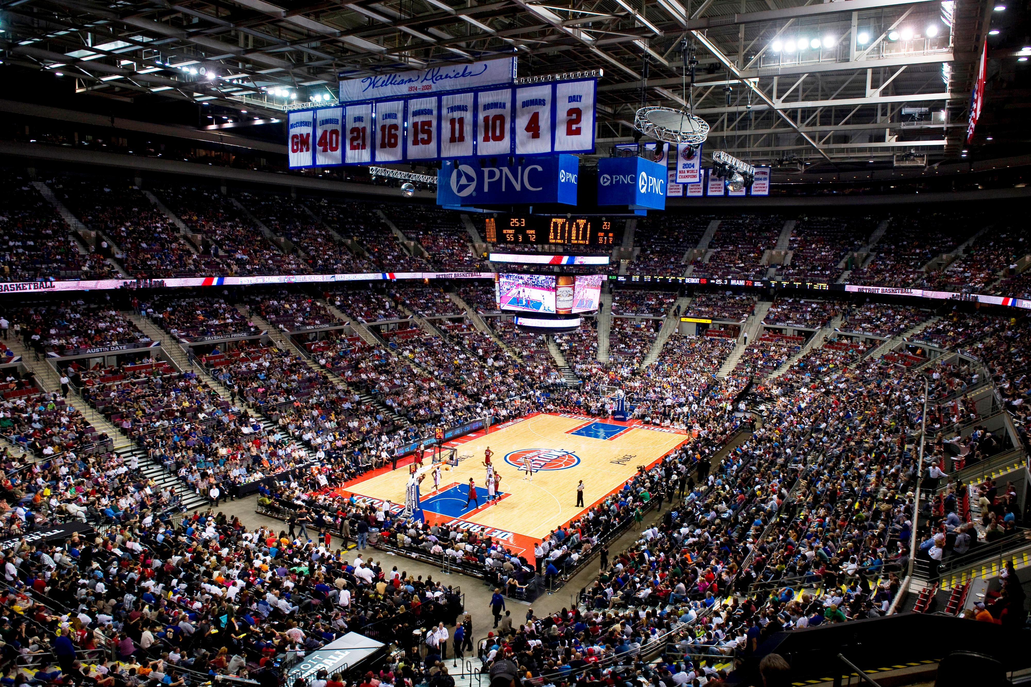 The Palace of Auburn Hills