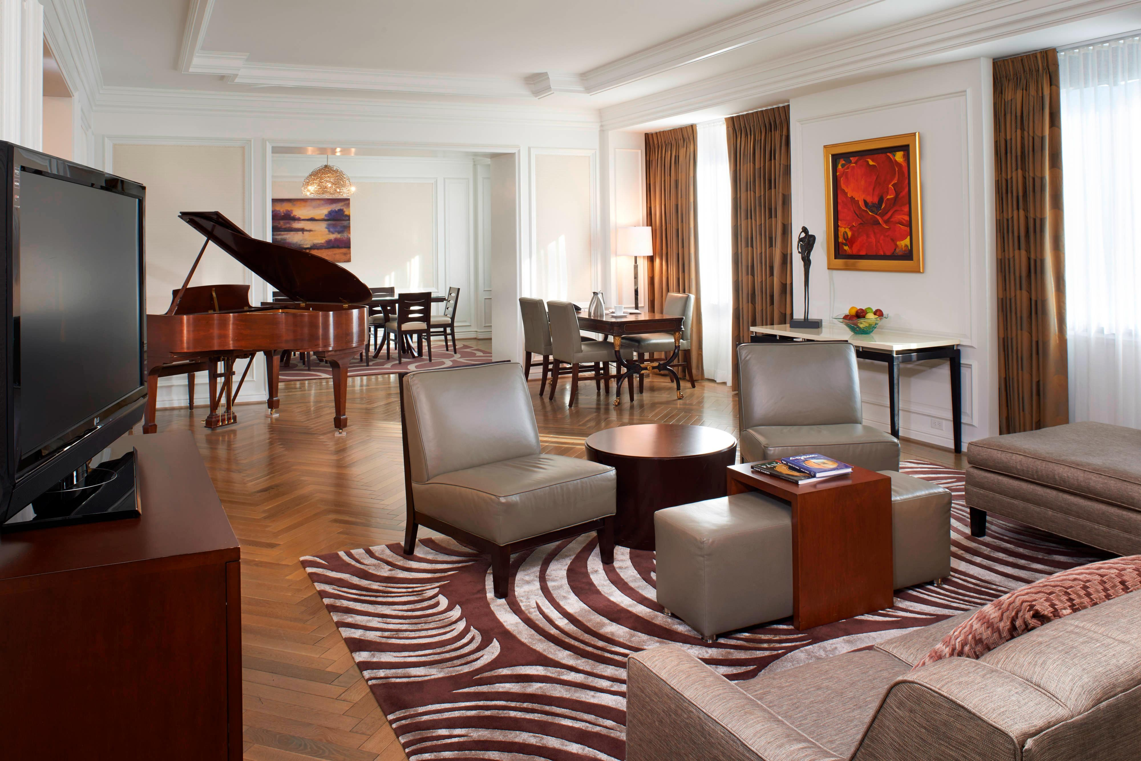 Henry Dearborn Hotel Presidential Suite