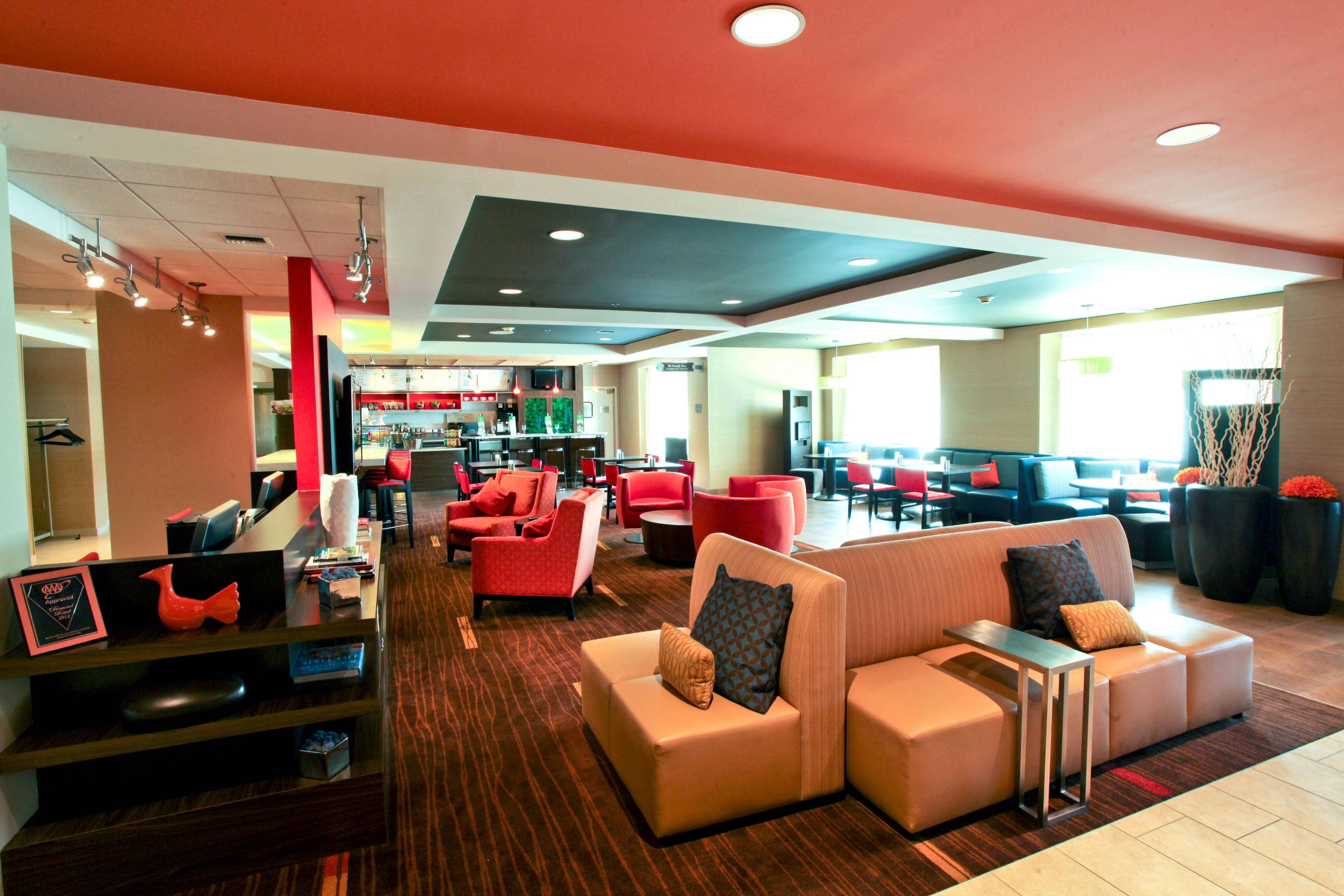 Hotel Lobby Seating & Public Space