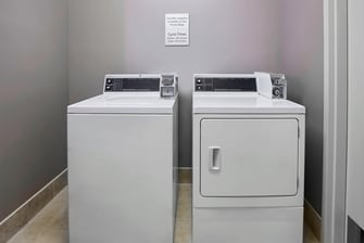 Guest Laundry with Washer and Dryer