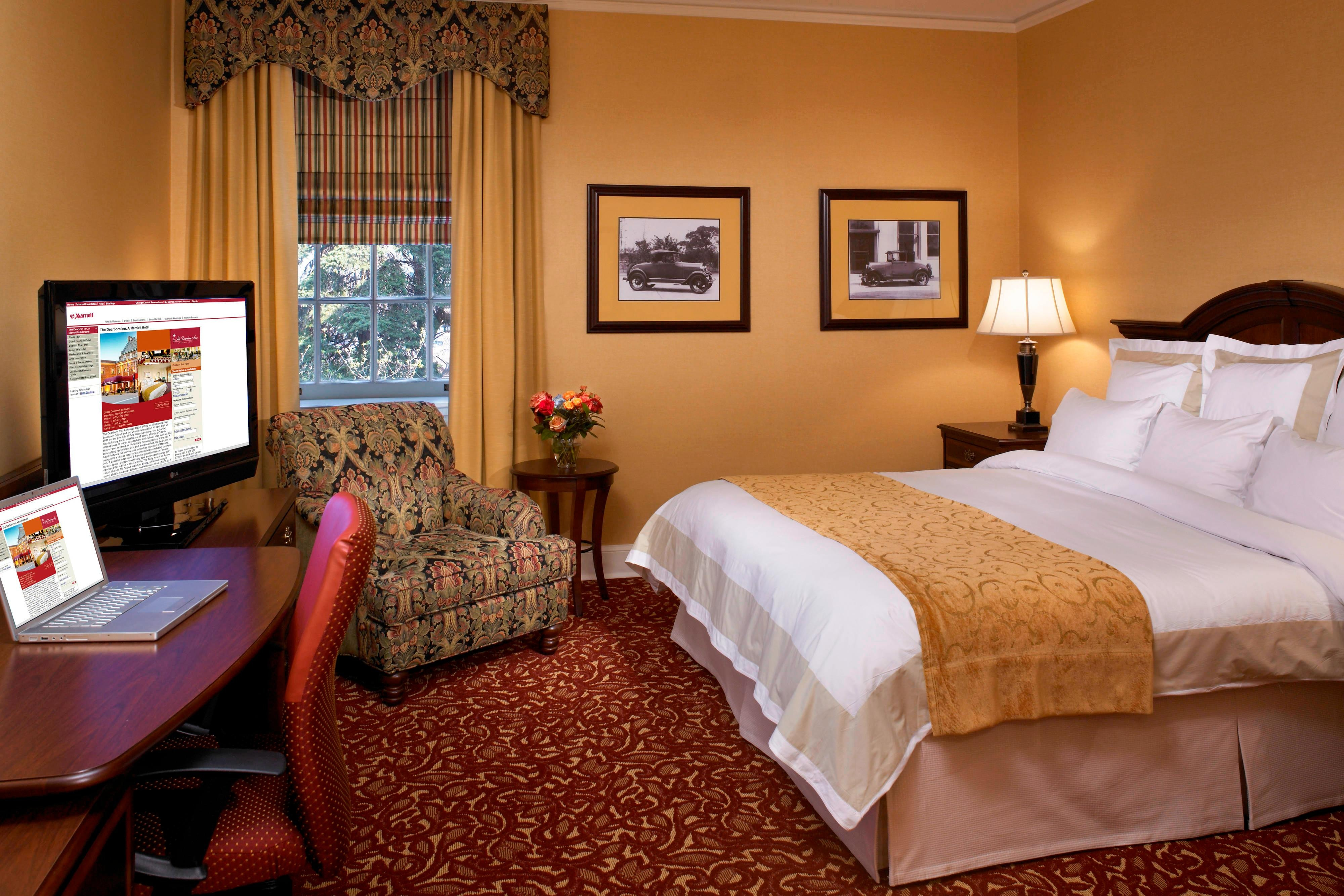 Dearborn Hotel Room