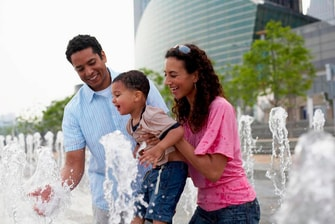 Family Getaway Near Detroit Tigers Stadium