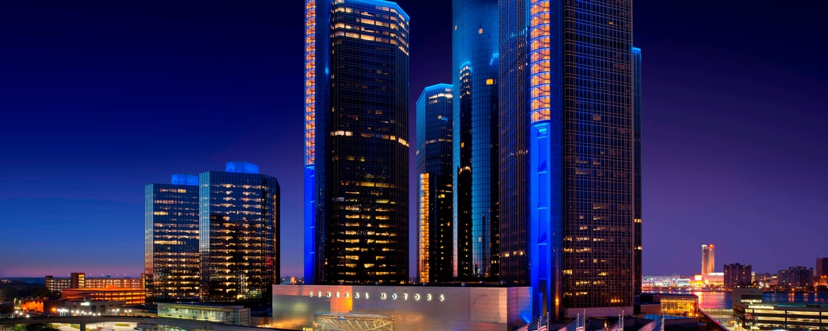 Hotel in Downtown Detroit, Michigan | Detroit Marriott at