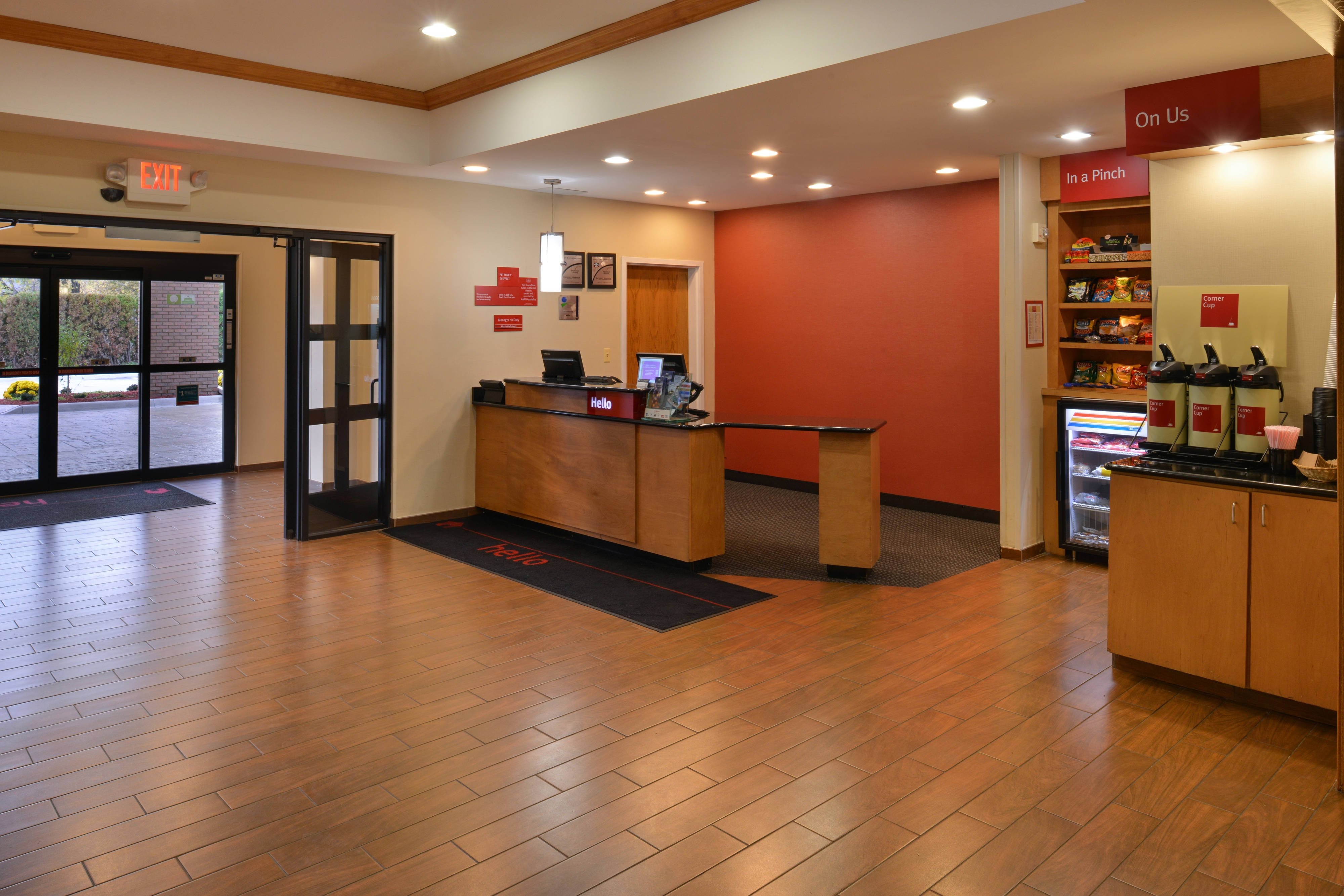 Front Desk Lobby Entrance