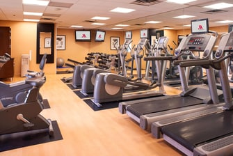 Detroit Metro Airport Marriott Hotel Fitness Center