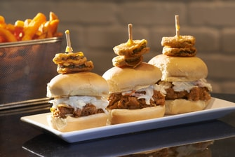 Sliders featured at North