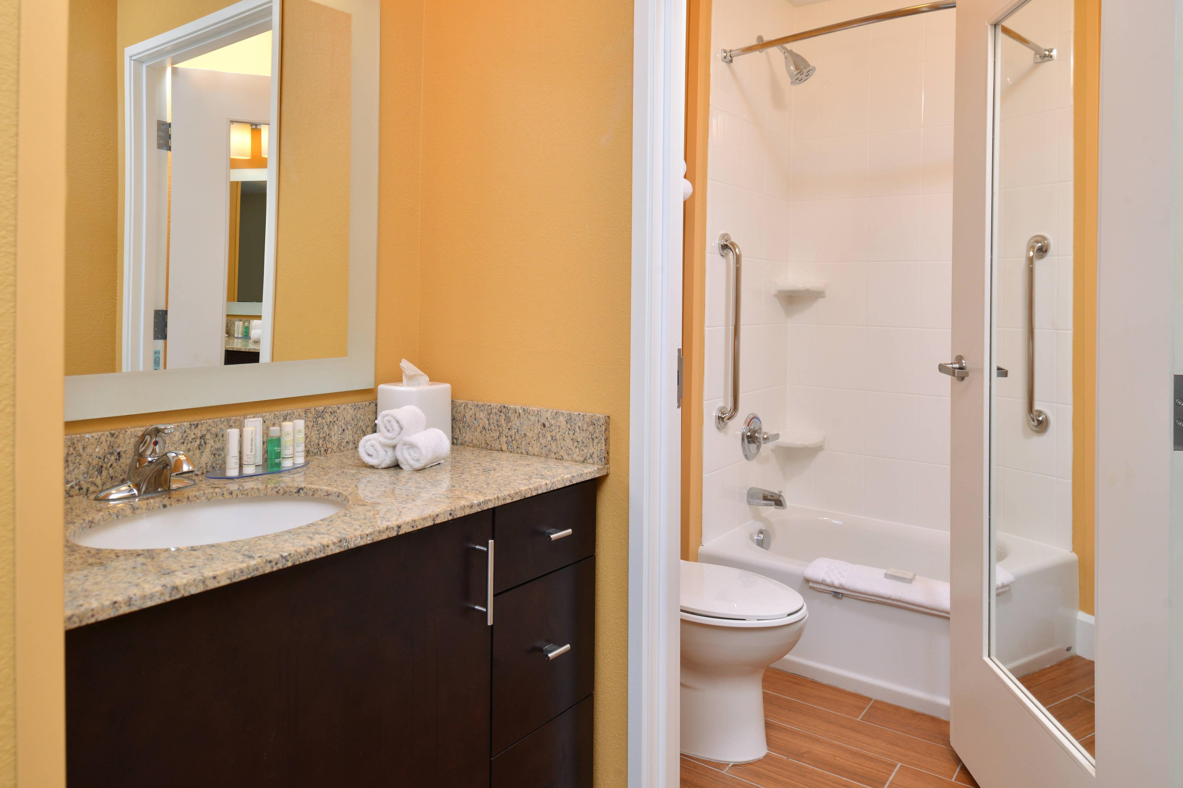 Two Queen Studio Bathroom