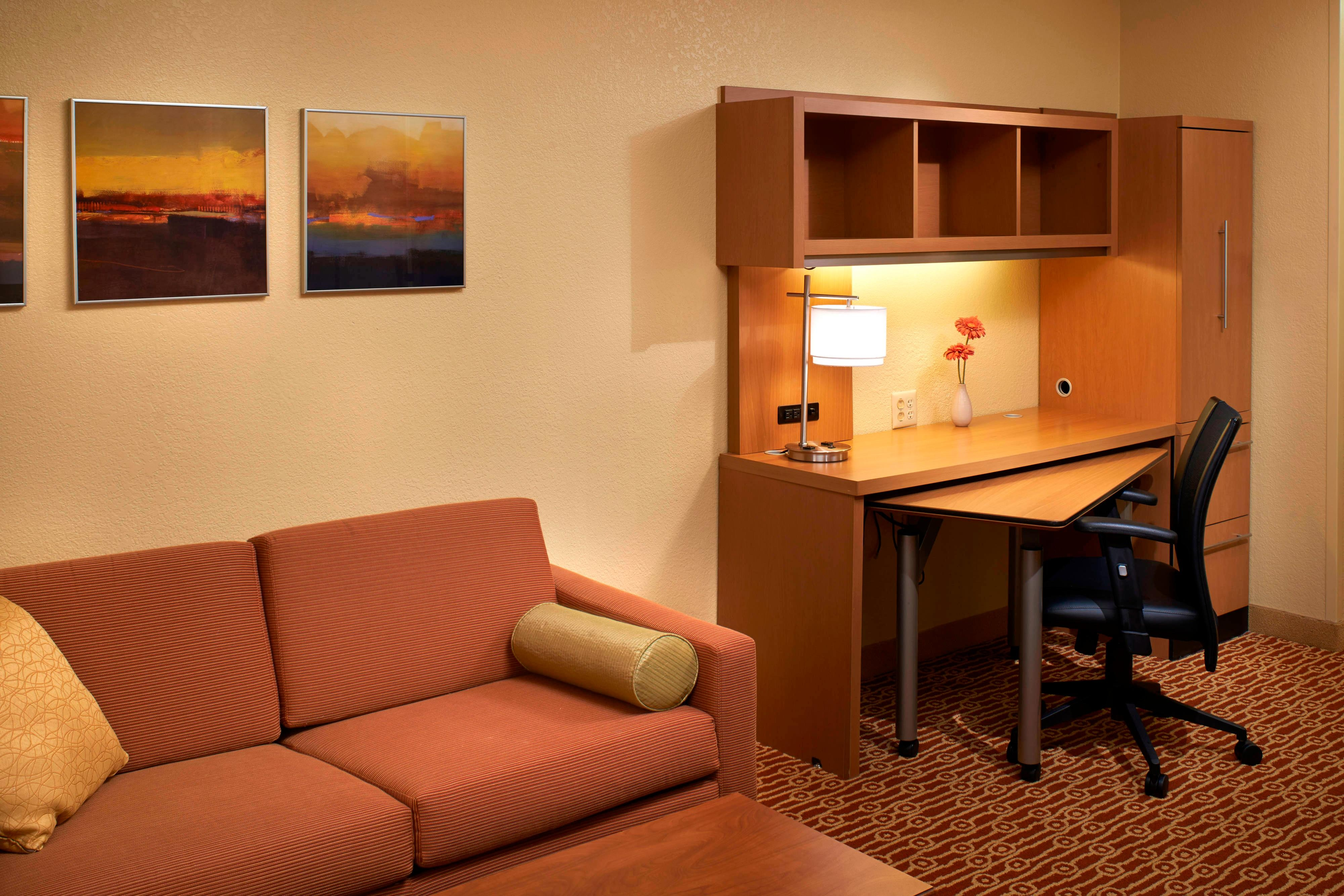 Büro in der Suite