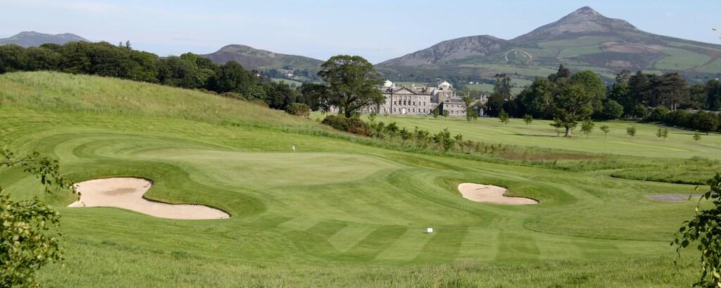 Championship golf course Dublin