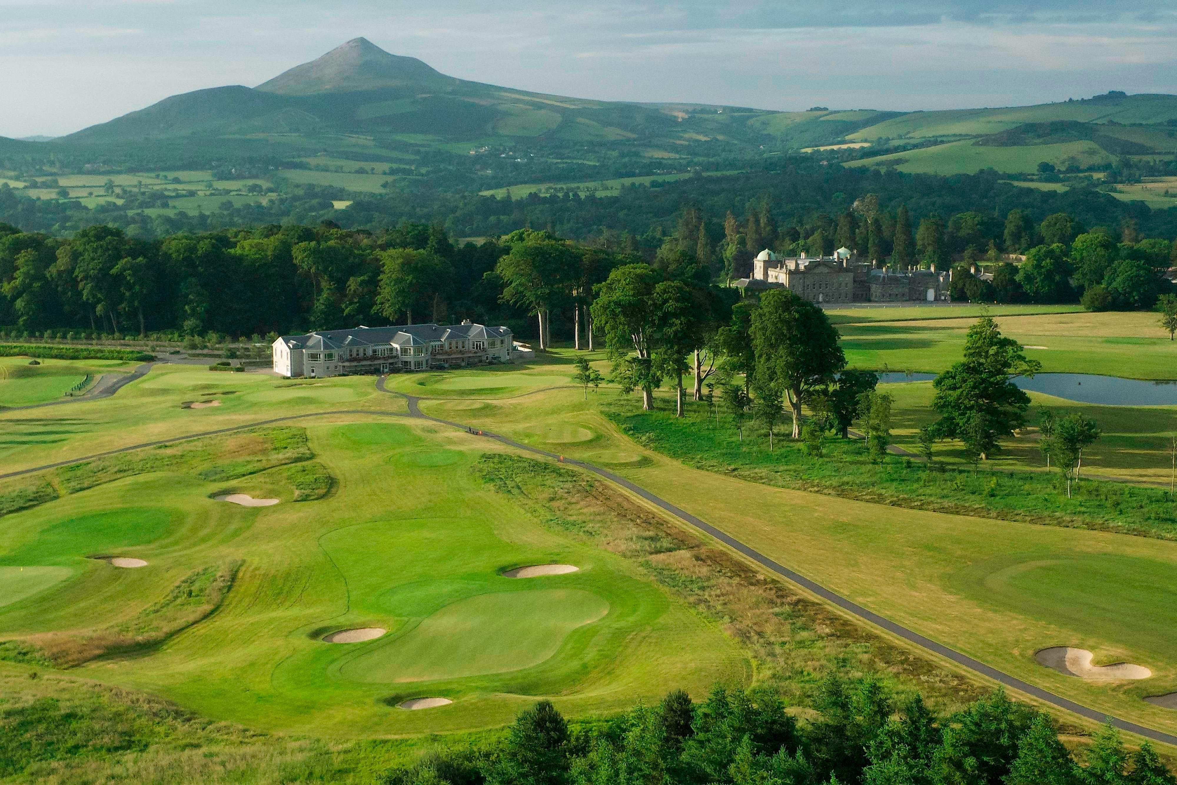 Championship golf course Powerscourt