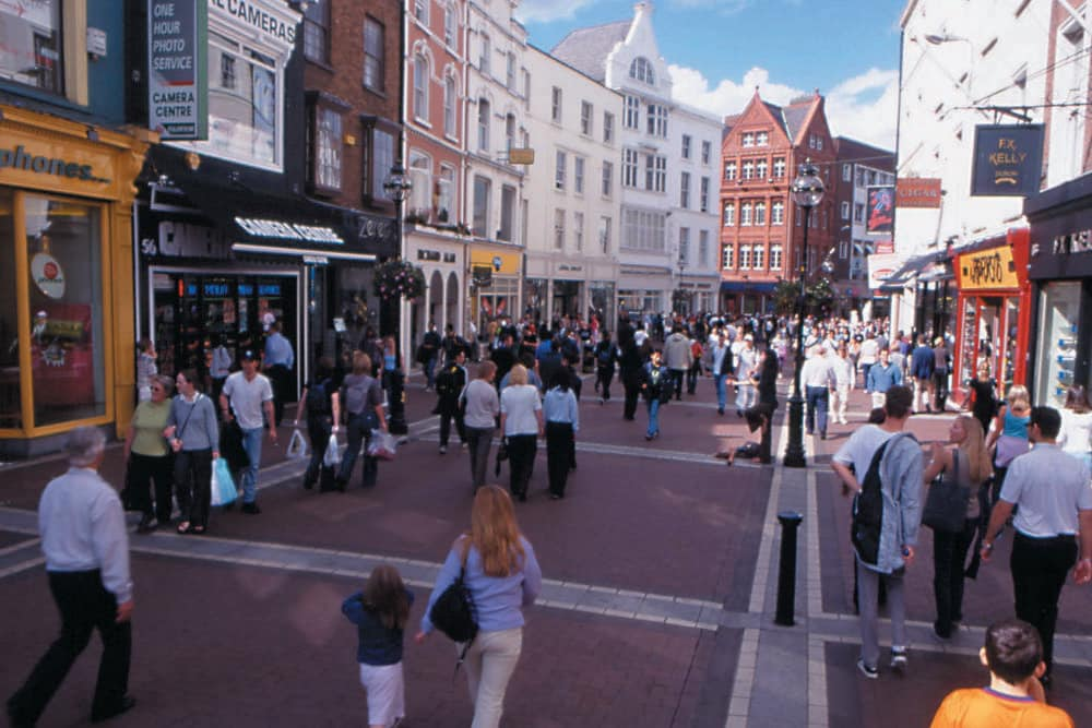 hotels near grafton street