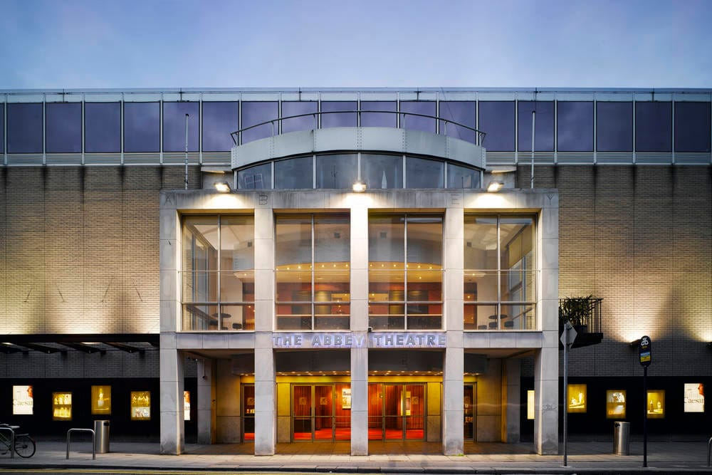 Abbey Theatre exterior, front entrance