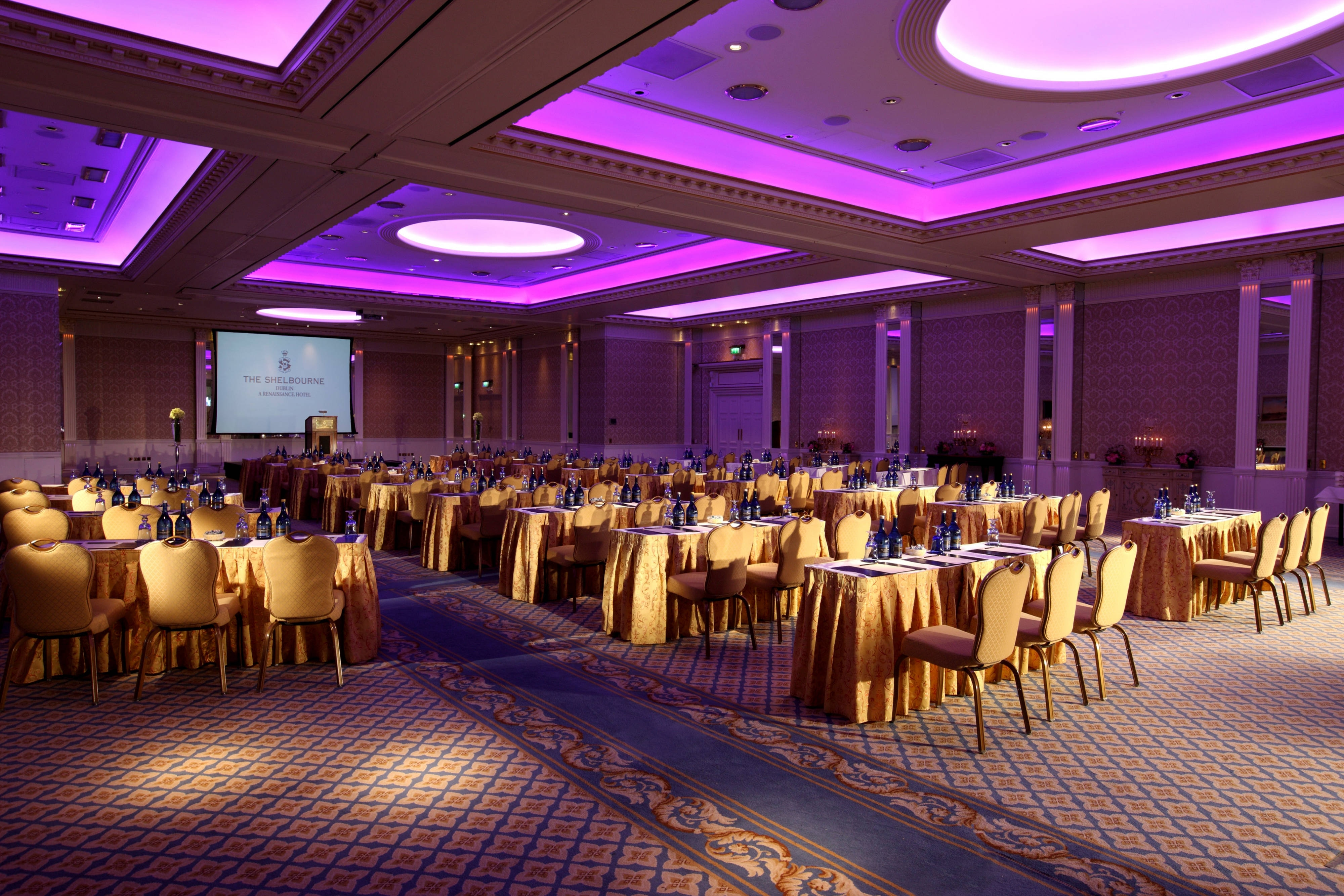 Great Room Banquet Style Event