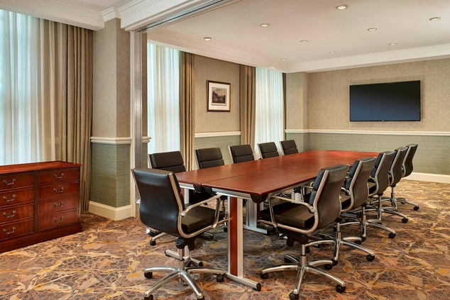 The Ha'penny & Farthing Boardroom style