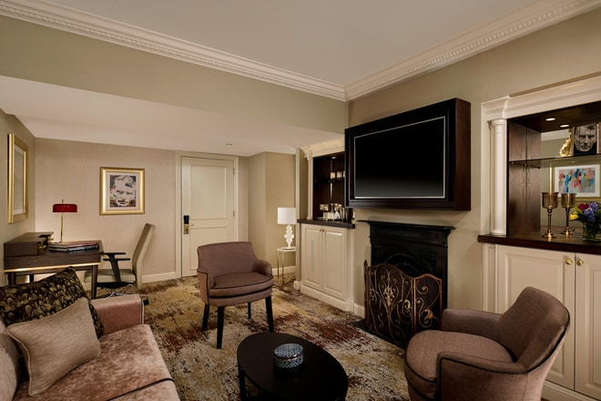 Library Suite Living Area