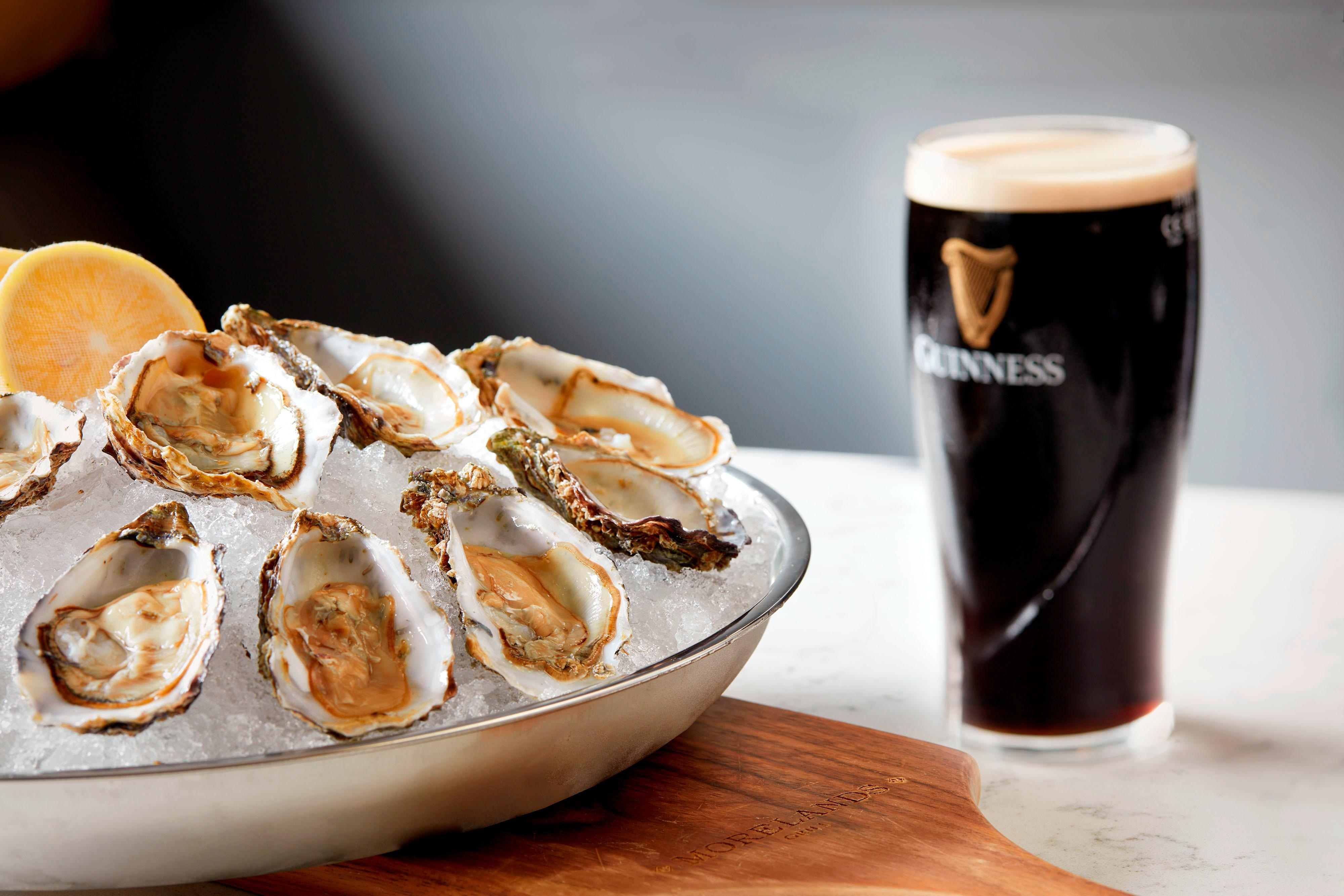 Morelands Grill - Oysters & Guinness