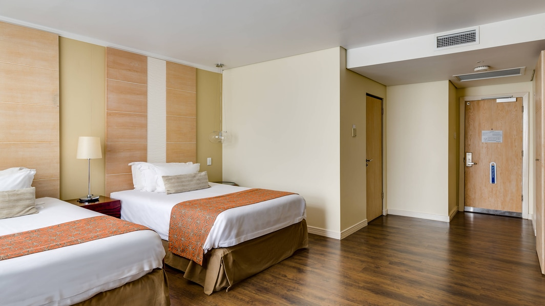 Deluxe guest room accommodation, bedroom