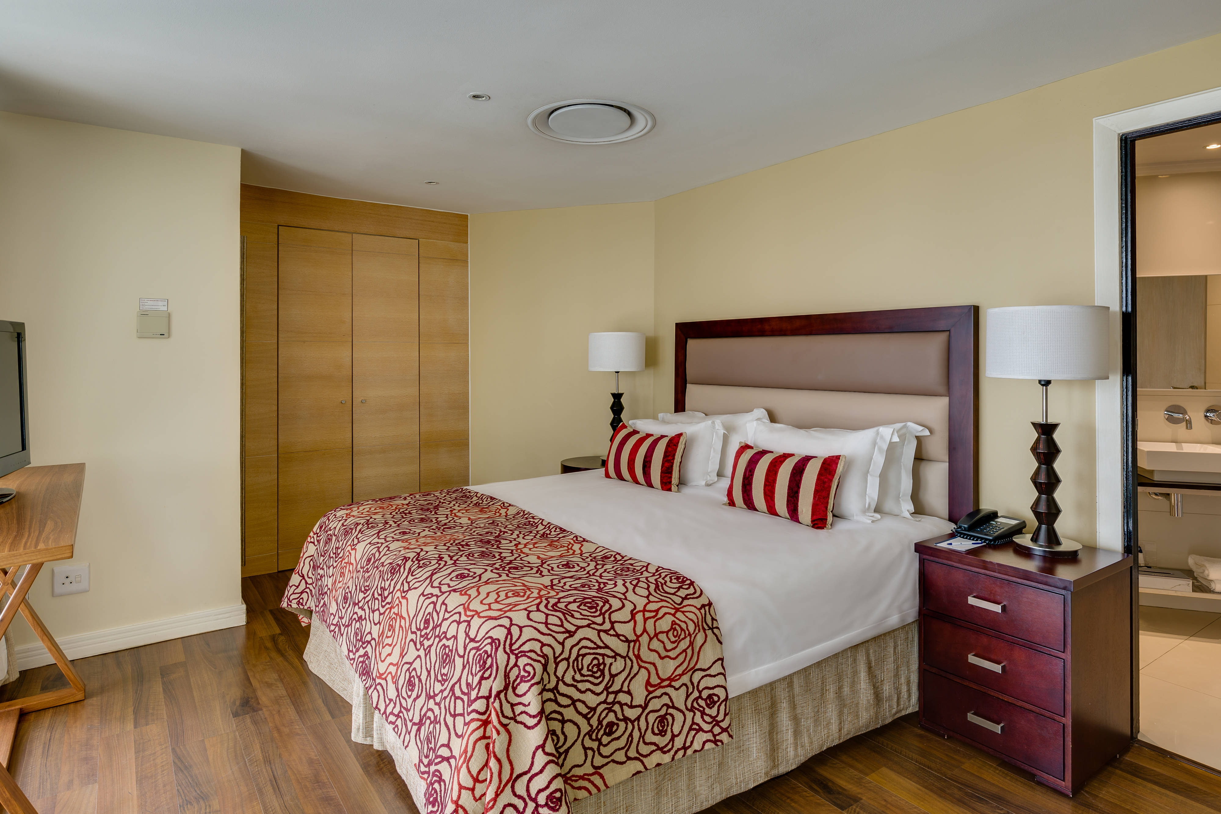 Penthouse accommodation, upstairs bedroom