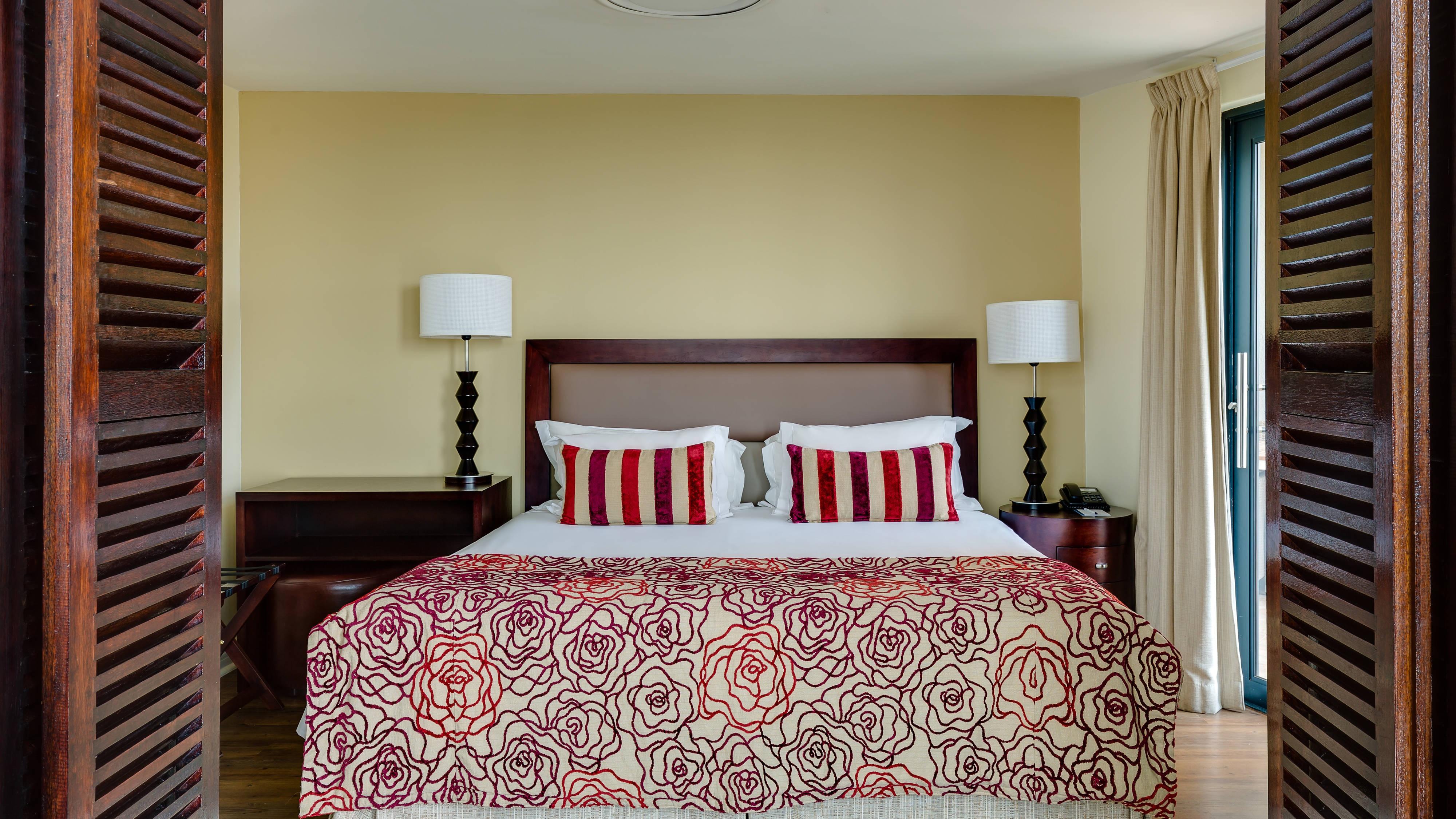 Alojamiento en suites Penthouse, dormitorio principal