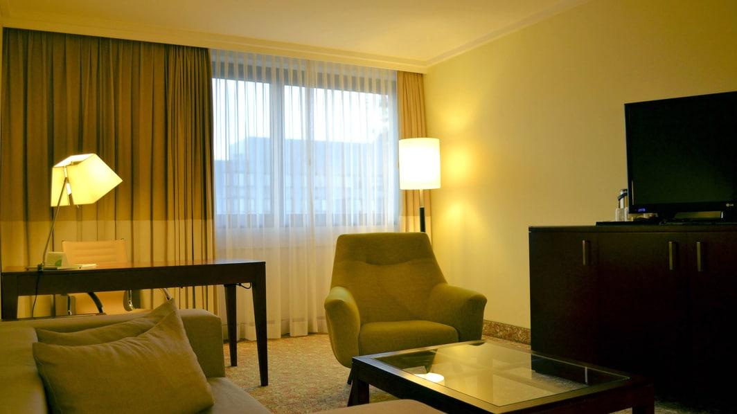 Suite at Duesseldorf hotel