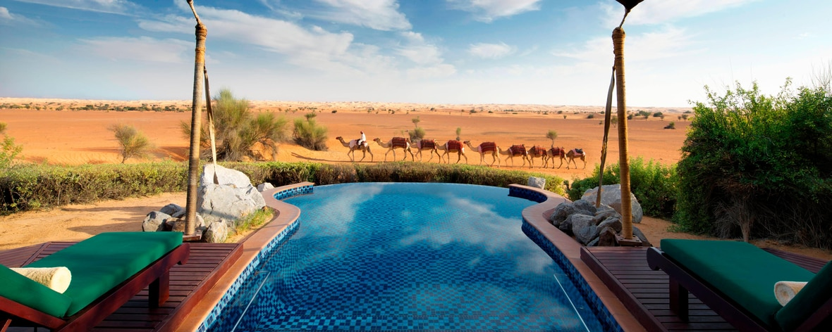 Bedouin Suite – Pool