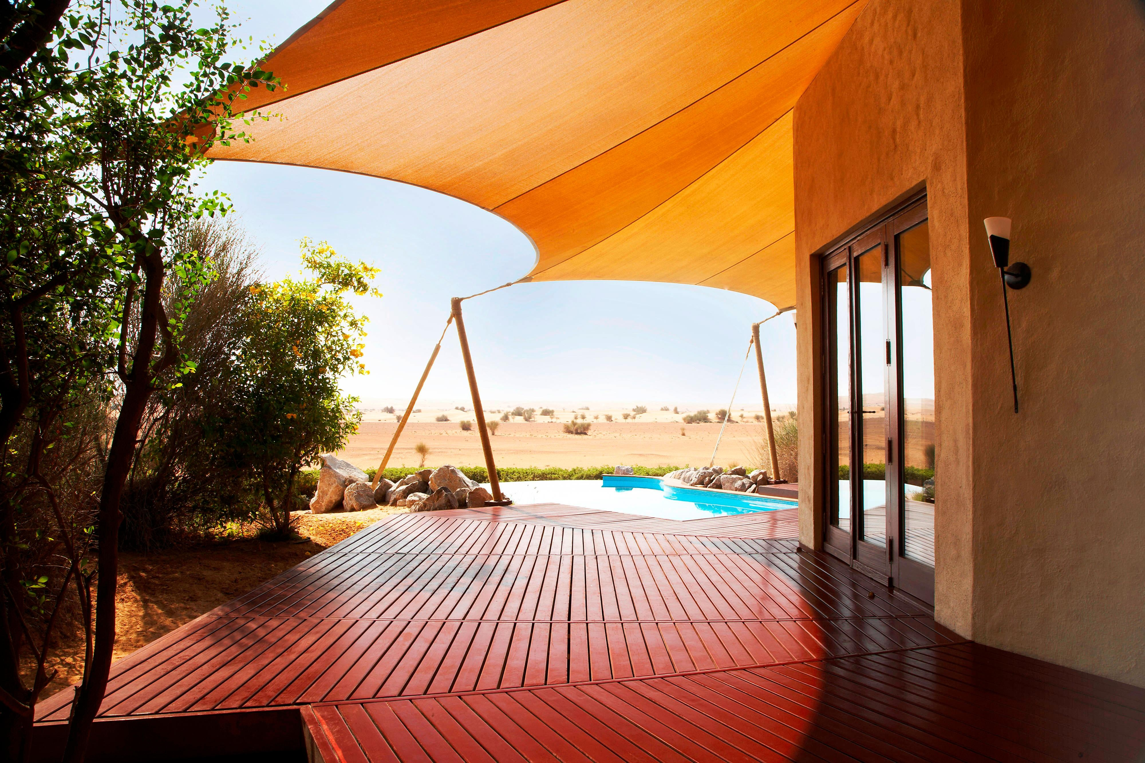 Bedouin Suite private deck