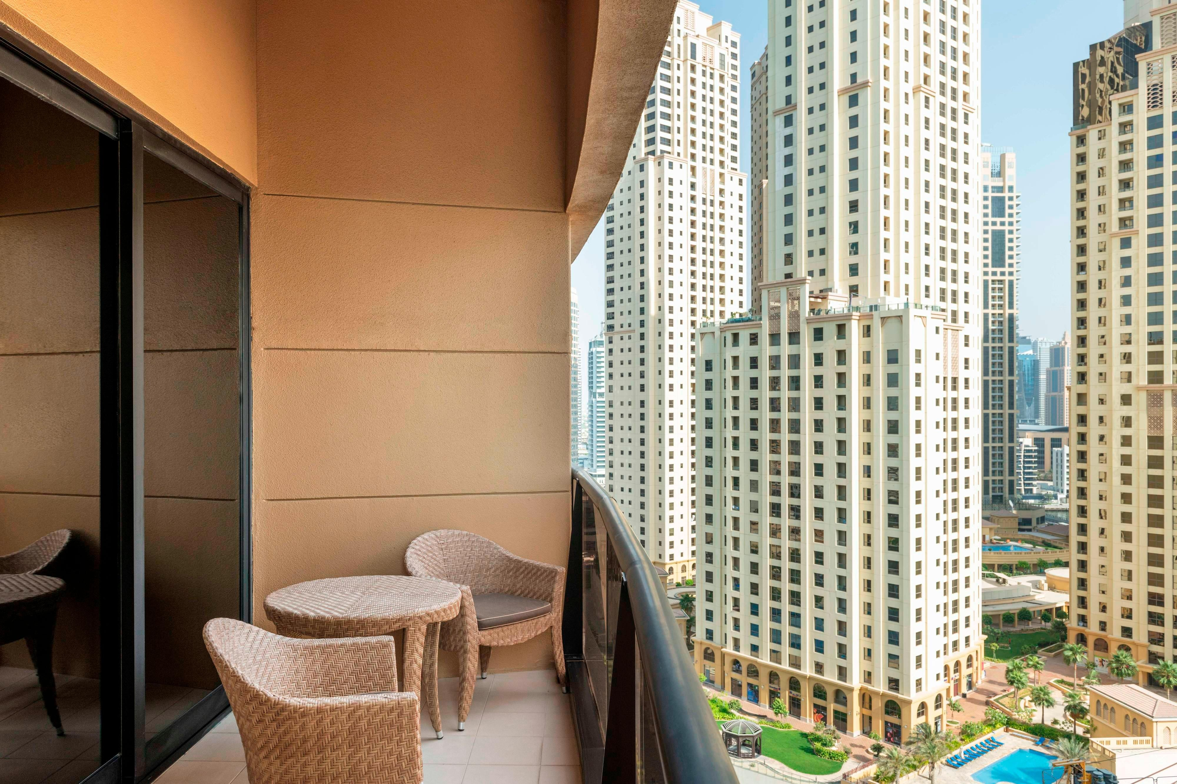 JBR View Royal Club Guest room Balcony