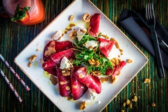 Slow Roasted Beet Salad