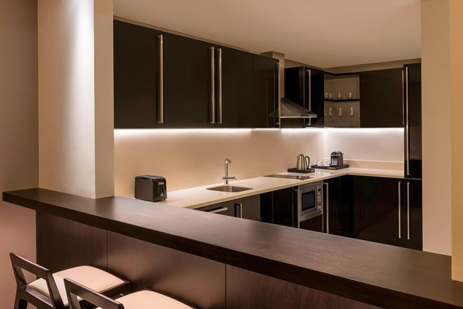 Kitchen in a Two-Bedroom Apartment