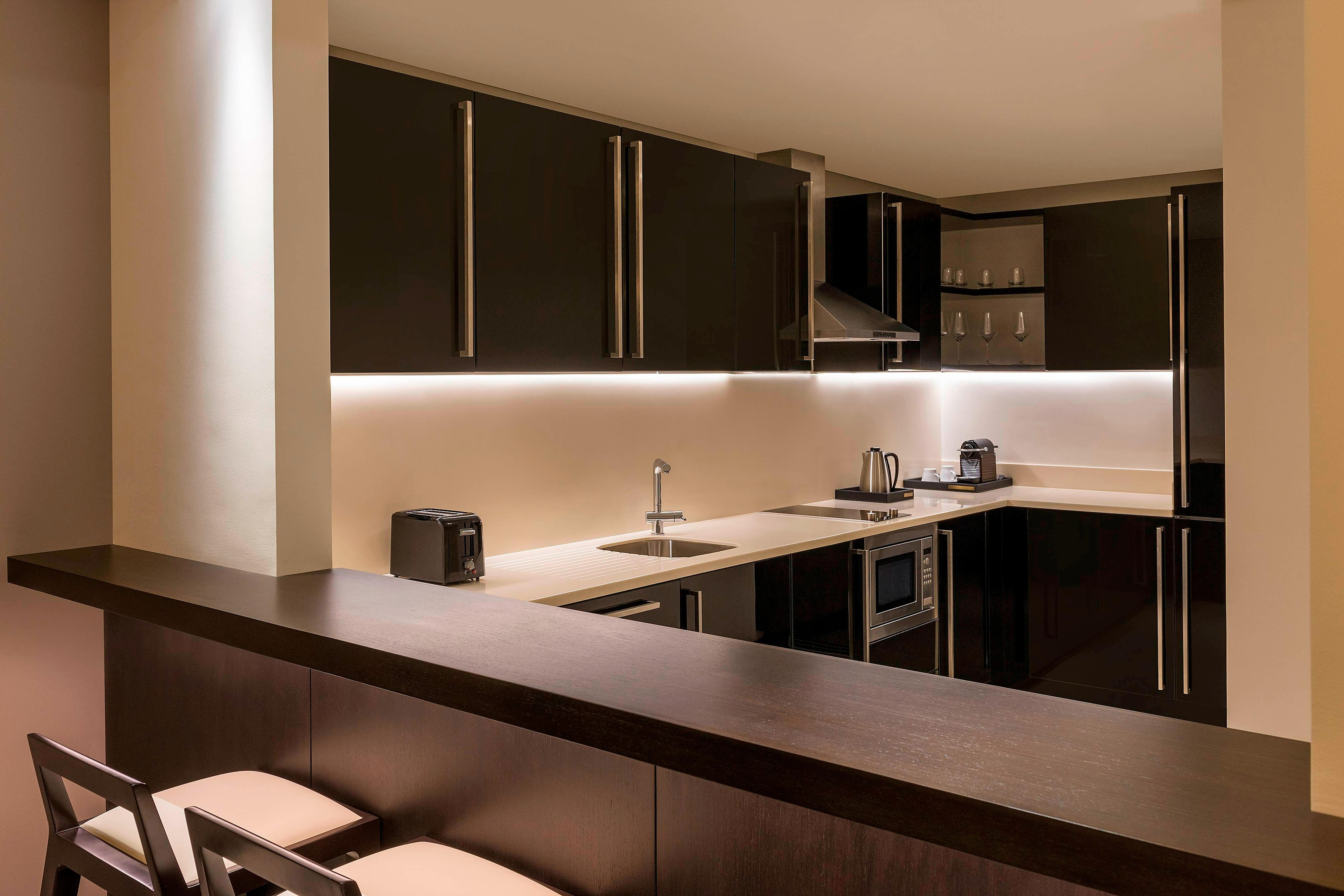 Two-Bedroom Apartment Kitchen