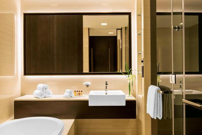 Bathroom in an Apartment